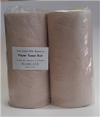 KITCHEN TOWEL PAPER ROLL ASPIRE 2PLY 60 SHEET PK2